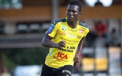 Teteh Bangura on trials in Sweden