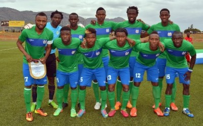 Leone Stars Line-up Vs Gabon