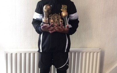 9-yr-old Salone soccer prodigy voted Best player at English Club