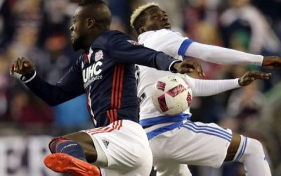 Kei Kamara given yellow card for twerking goal celebration during New England Revolution vs Montreal Impact