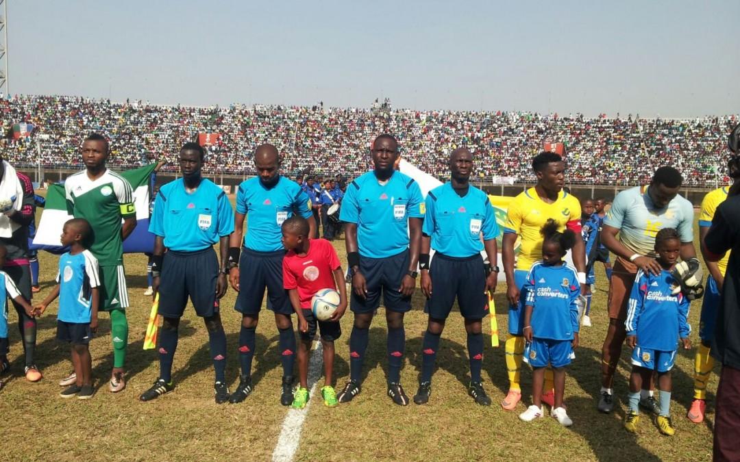Sierra Leone avenge Gabon defeat