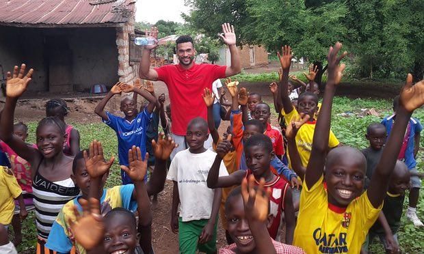 'Draining, humbling, inspiring': Steven Caulker's life-changing Sierra Leone trip