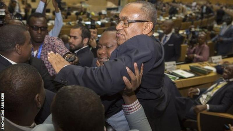 Madagascar FA chief Ahmad elected as new Caf president
