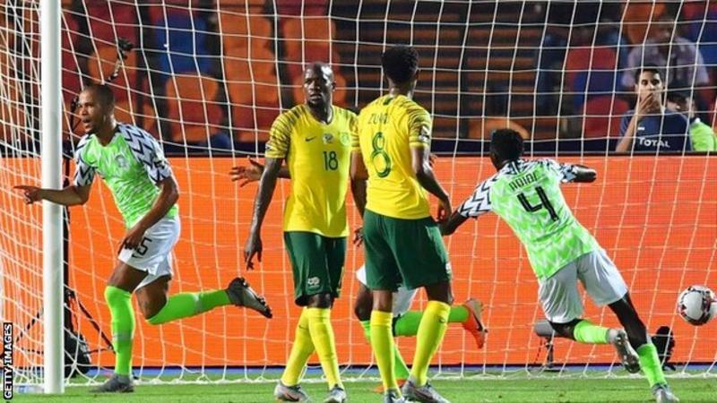 Nigeria 2 South Africa 1