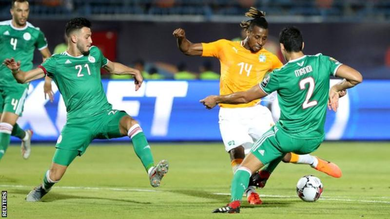 Ivory Coast 1 Algeria 1 (AET) Algeria win 4 – 3 on penalties