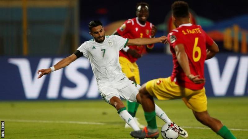 Algeria 3 Guinea 0