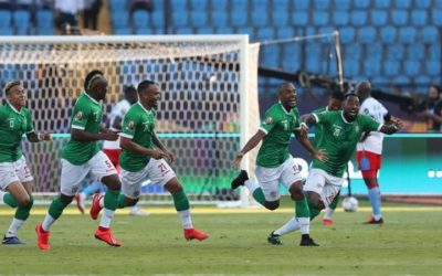 Madagascar 2 DR Congo 2 (AET) Madagascar win 4 – 2 on penalties