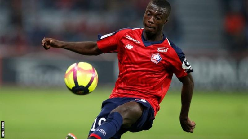 Nicolas Pepe: Arsenal close in on £72m deal for Lille winger