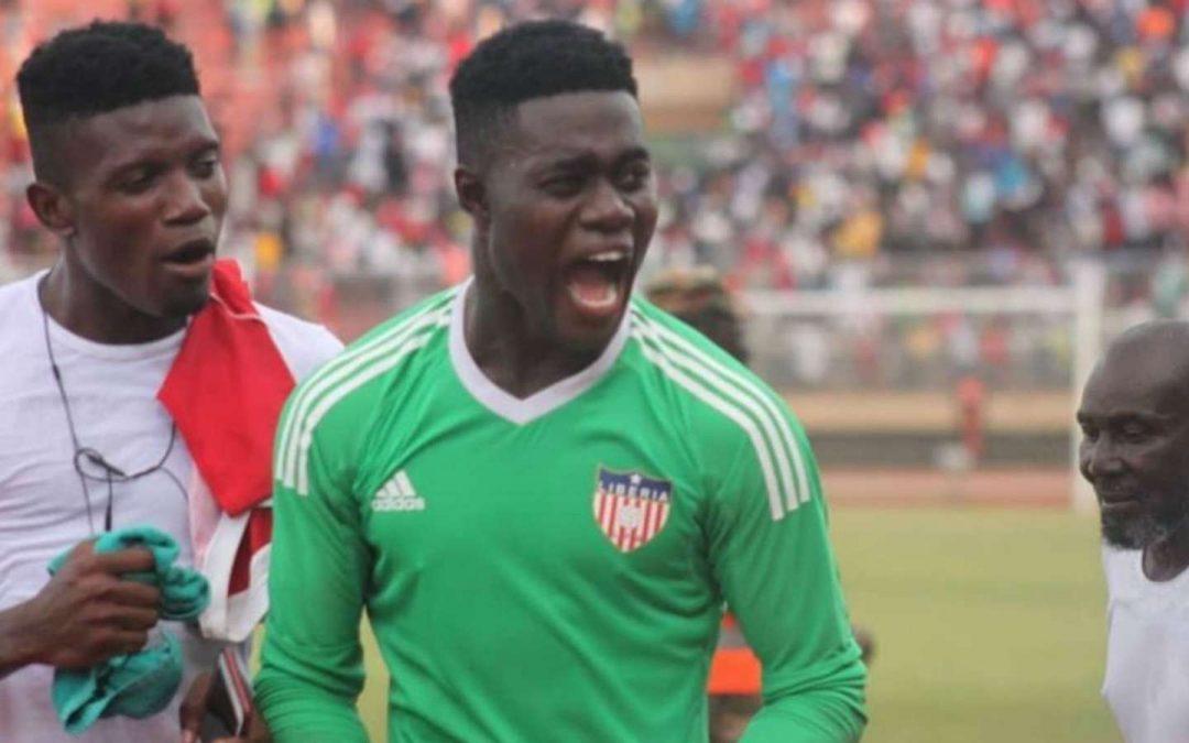 Liberia goalkeeper rewarded for his heroics against Sierra Leone