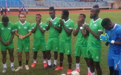 Leone Stars in Monrovia