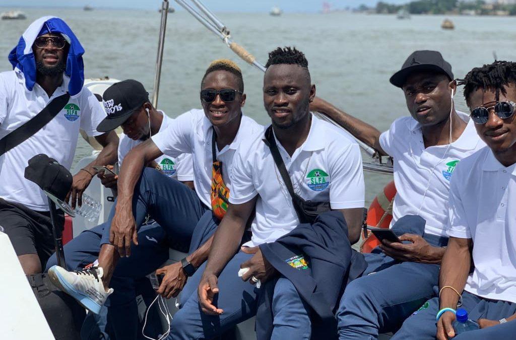 Leone Stars depart for Liberia