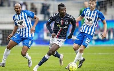 In-form striker Mustapha Bundu scores four goals in last two Danish Superliga matches for Aarhus GF