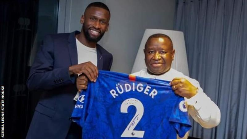 Chelsea's Antonio Rudiger makes donation