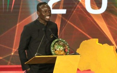 Senegal's Sadio Mane named Caf African Player of the Year